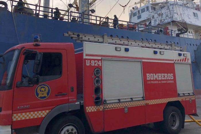 Из-за пожара на судне в порту Ла Лус погибли три моряка