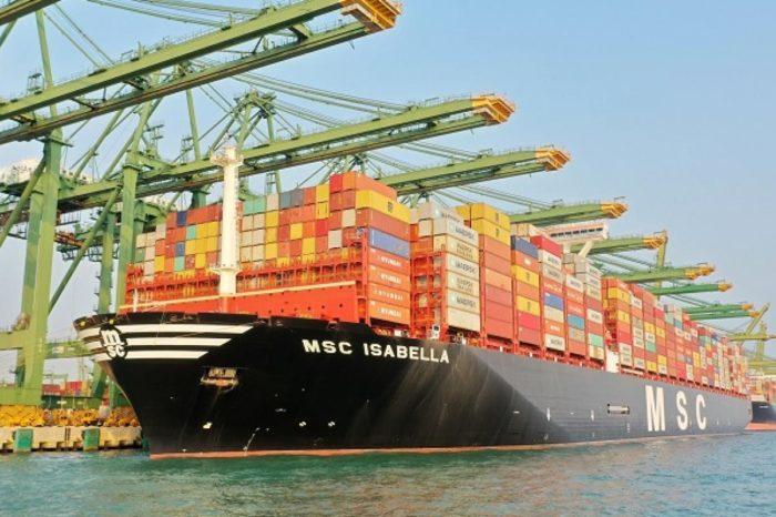 В октябре импорт контейнеров в Северную Америку вырос на 20%