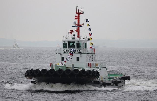 В Японии провели второе испытание буксира с дистанционным управлением