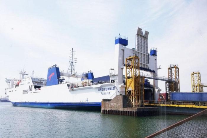 МИУ не утвердило соглашение о передаче частникам паромного комплекса Черноморского порта