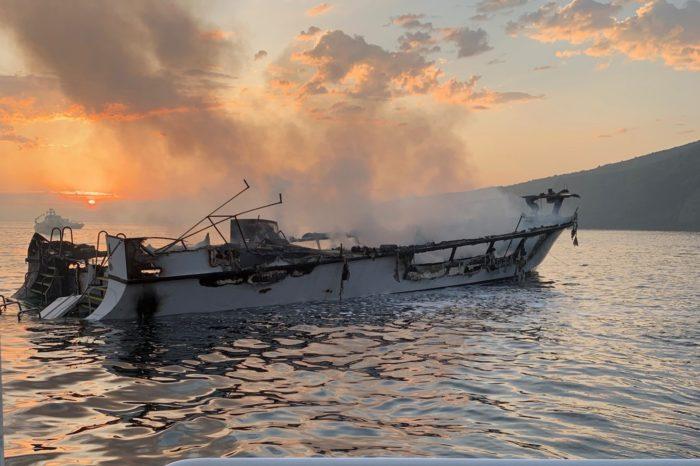 Капитана сгоревшего в США судна обвинили в гибели 34 человек