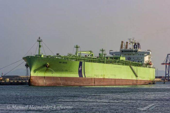 Завершены морские и газовые испытания третьей модификации судов BW LPG