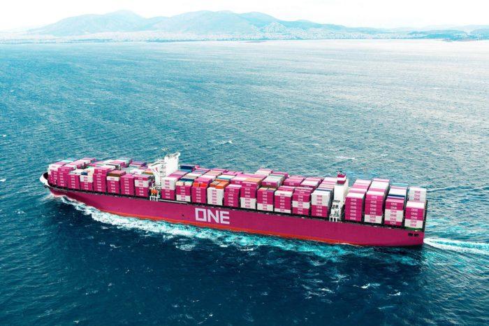 ONE построит шесть крупнейших контейнеровозов в мире
