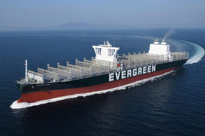 Evergreen усиливает свою Транстихоокеанскую сеть новыми судами на 12 тыс. TEU