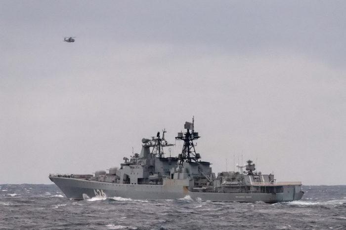 У территориальных вод Британии выросла активность кораблей РФ