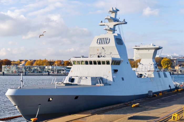 Израильский флот пополнился корветом INS Magen (ВИДЕО)