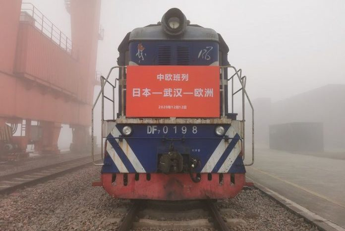 Запущено новое интермодальное сообщение Япония-Китай-Европа