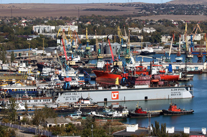 Украинский суд наложил аресты на 32 судна, которые заходили в Крым