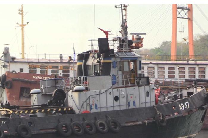 """Буксир ВМСУ """"Яны Капу"""" отремонтировали после нападения в Керченском проливе"""