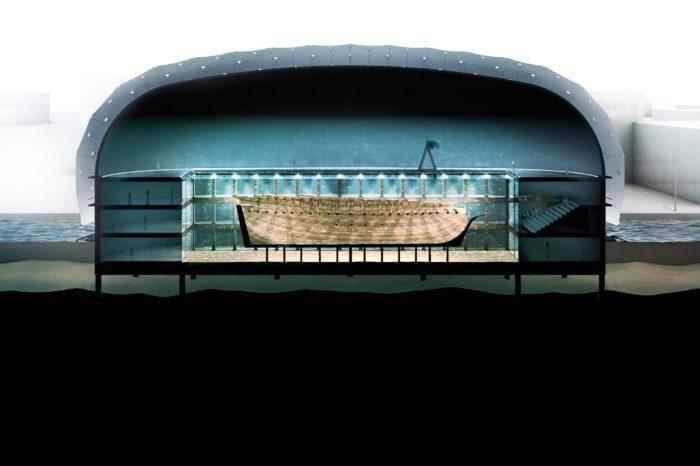 В Нидерландах построят музей вокруг затонувшего судна