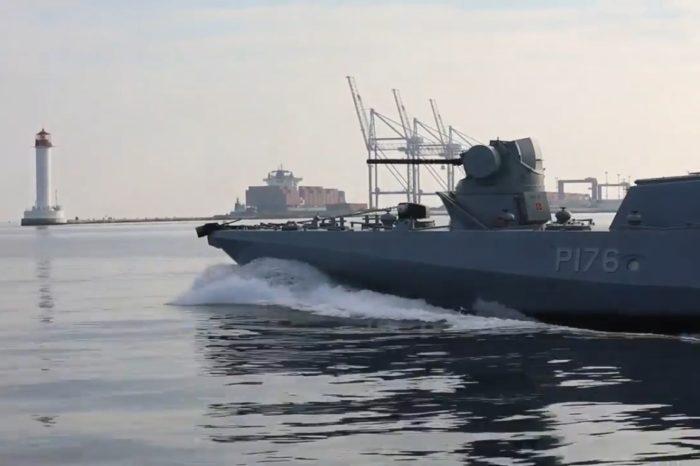 ВМС ВСУ показали, как проходили учения в Черном море
