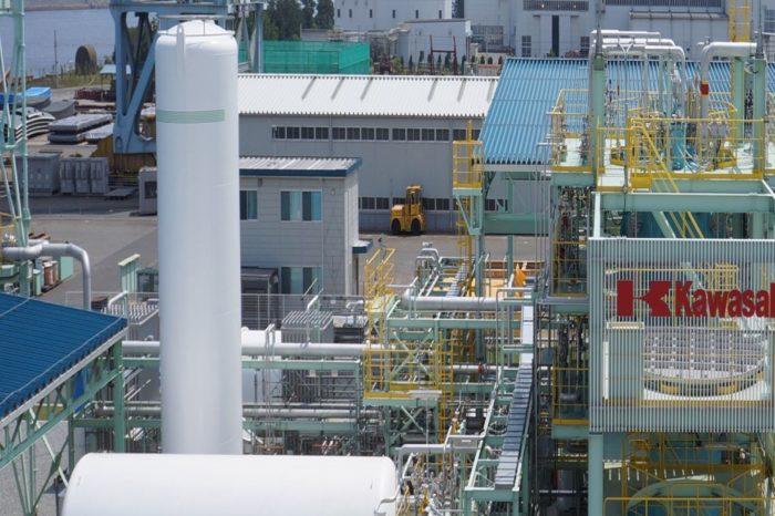 В Японии построили первый в мире терминал по приему сжиженного водорода
