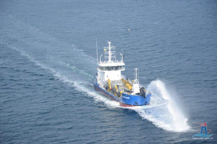 """В 2020 году объем дноуглубления, проведенного """"Дельта Лоцман""""своим флотом, составил 1,5 млн куб. метров"""