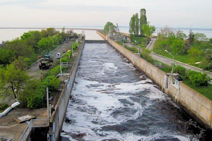 Навигация по шлюзам Днепра официально закрыта