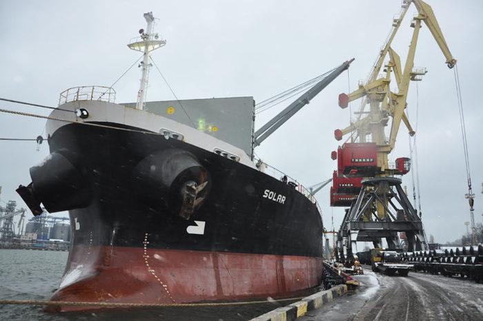 Реконструированный причала №7 Одесского порта принял 14 судов за три месяца