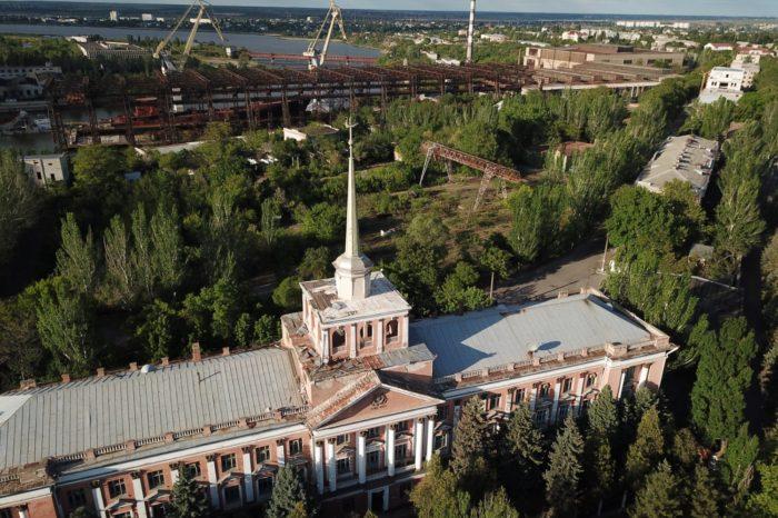 «Укроборонпром» собирается сдавать в аренду помещение заводоуправления Николаевского СРЗ