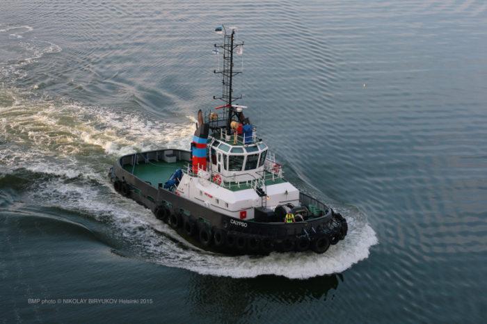 Ледокол Calypso с инновационным съемным носом спустили на воду в Финляндии