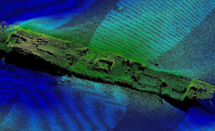"""""""Госгидрография"""" за год исследовала более 14 лин. км морского и речного дна"""