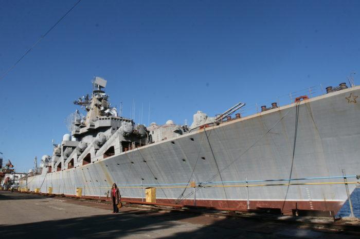 Будущее крейсера «Украина» до сих пор не определено