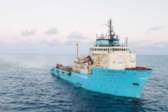 Maersk возобновляет и расширяет партнерство по избавлению океанов от пластика c The Ocean Cleanup