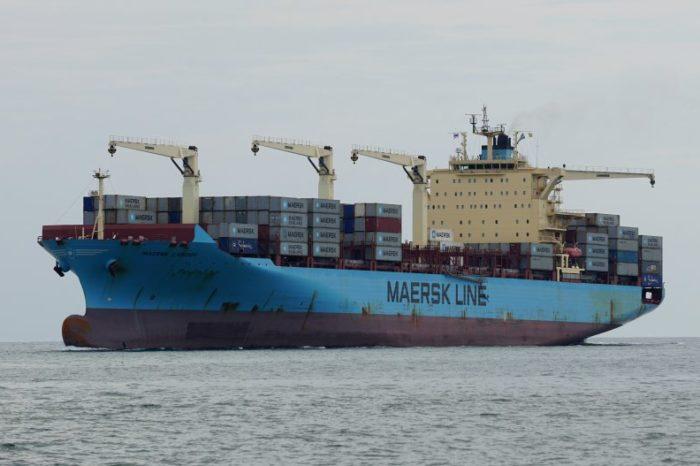 В Гвинейском заливе пираты дважды атаковали контейнеровоз Maersk Cardiff