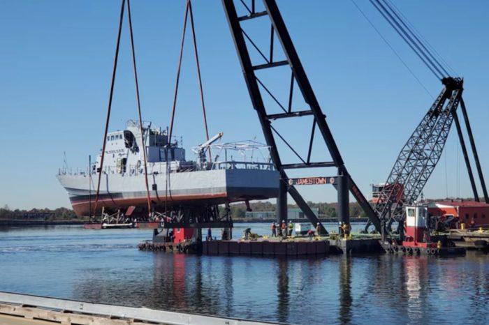 В Балтиморе патрульный катер ВМСУ совершил контрольный выход в море