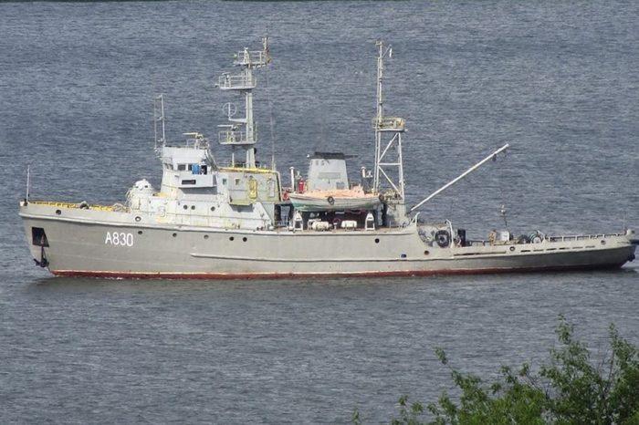 Морской буксир «Корец» переделают в патрульный корабль