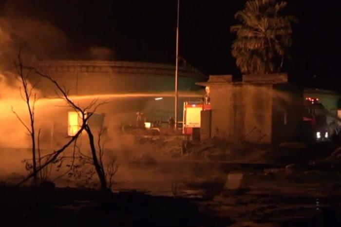 Пожар на сирийском НПЗ: горели танкеры
