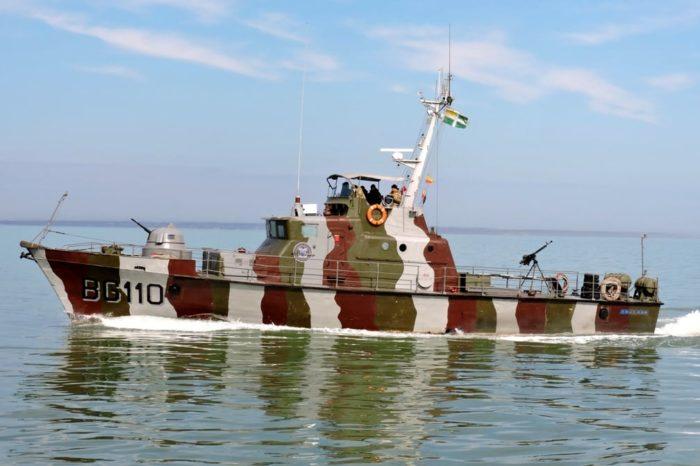 Катер «Любомир» Мариупольской морской охраны отметил годовщину поднятия флага