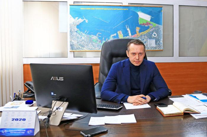 Директора Одесского морского порта отстранили от должности