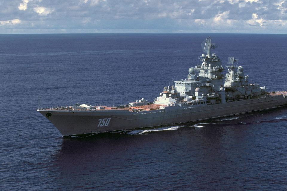 В РФ утилизируют атомный ракетный крейсер «Адмирал Лазарев»