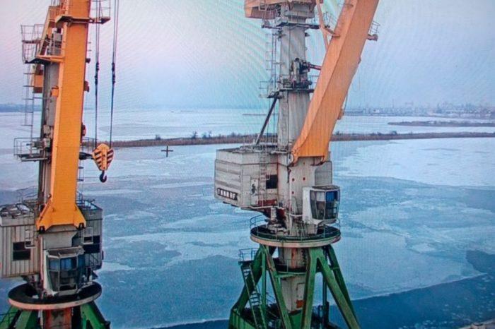 В порту «Ольвия» завершилась ледовая кампания
