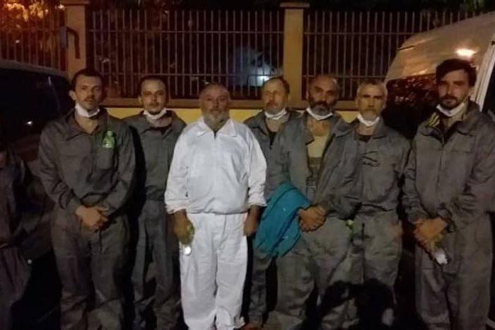 Из плена освободили 6 украинских моряков с судна Stevia
