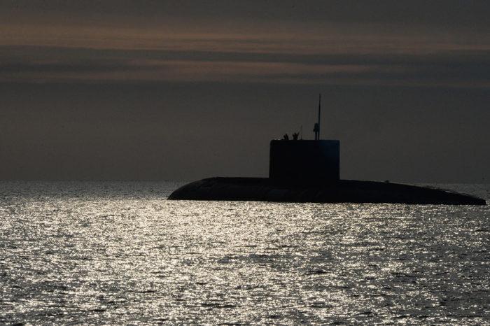 В Японии подводная лодка столкнулась с судном