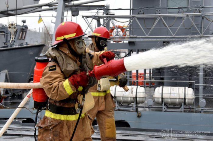 ВМСУ проверяют, умеет ли плавсостав бороться за живучесть кораблей