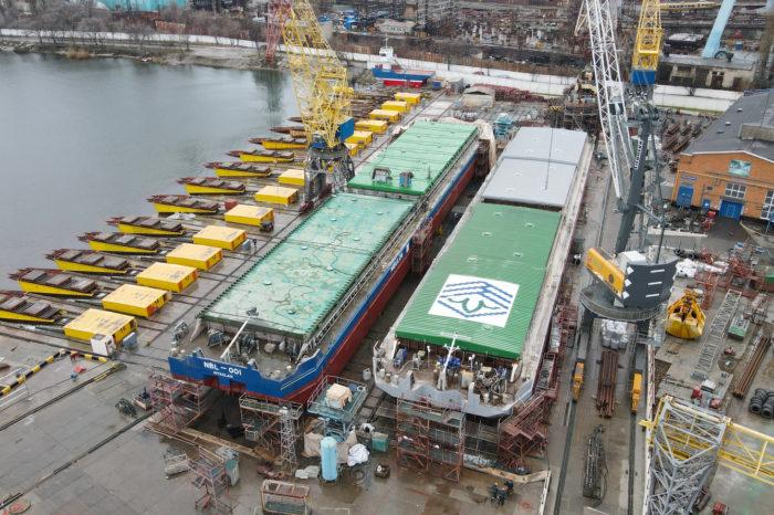 «Нибулон» строит два новых судна