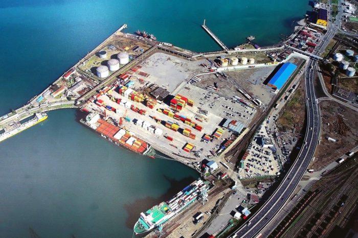 Грузооборот портов Грузии в 2020 году снизился на 1,7%