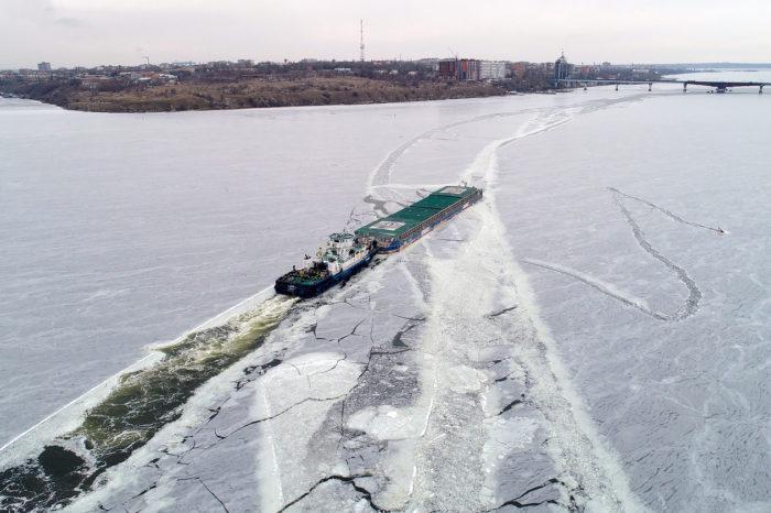 «Нибулон» поставили новый рекорд по речным перевозкам