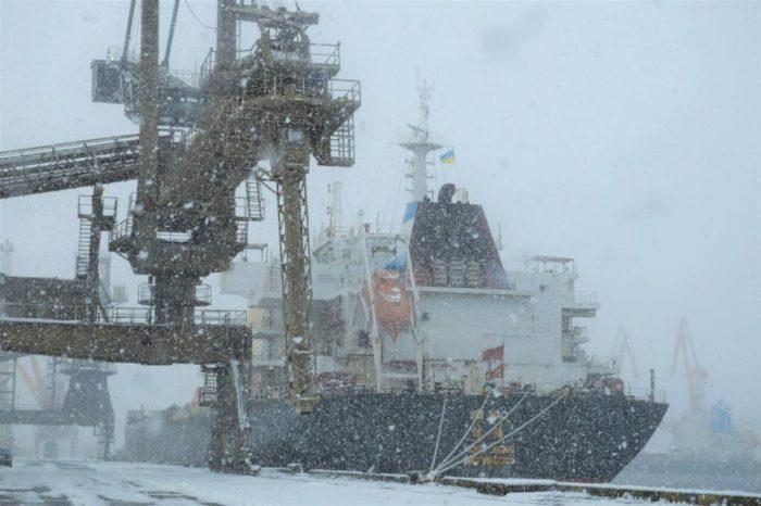 Ближайший циклон может повлиять на работу украинских портов