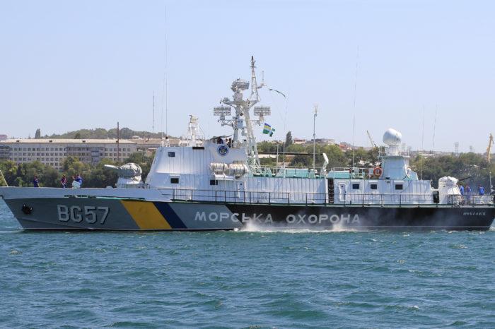 Госпогранслужба получила от Франции корпус первого из 20 катеров для Морской охраны