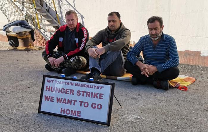 Четверо моряков объявили голодовку, чтобы добиться репатриации с судна Palmali