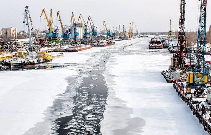 В Херсонском и Николаевском портах завершилась ледовая кампания
