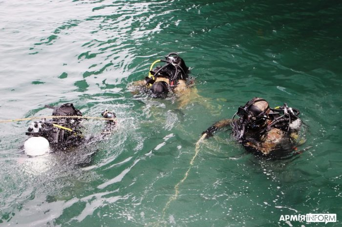 ВМСУ провели учения в акватории Одесского порта
