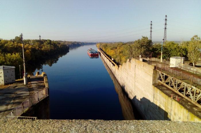 На Каховском шлюзе начался капитальный ремонт