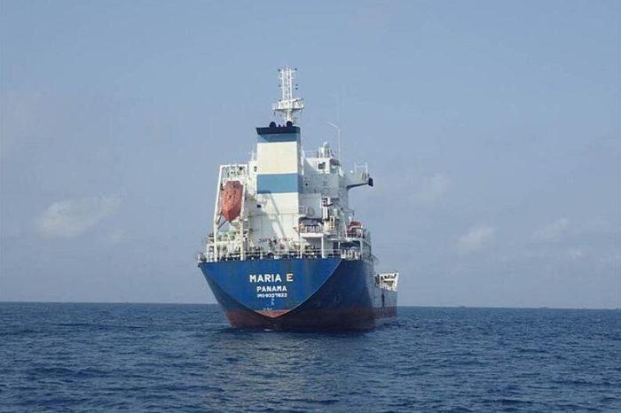 Пираты захватили танкер Maria E в Гвинейском заливе