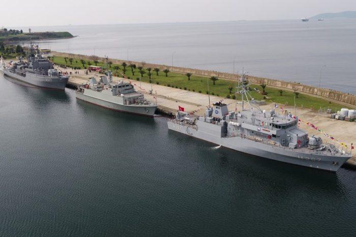 Корабли противоминной группы НАТО вошли в Черное море