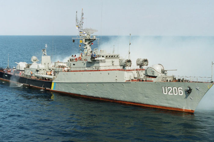 ВМС спишут корвет «Винница» и два рейдовых катера