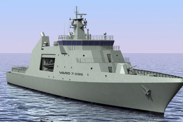 Норвежская компания Vard Marine спроектирует судно для ВМС Чили