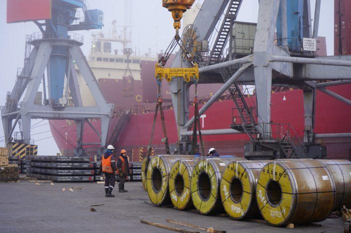 Мариупольский порт побил собственный рекорд перевалки: полмиллиона тонн за месяц