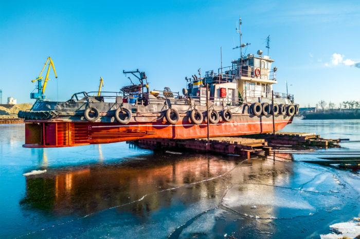 Киевский СРЗ выполнил ремонт буксира «Джура»